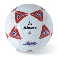 Mikasa® Soft Soccer Ball Size 5 Red/White