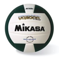 Mikasa® Competition Volleyball, Green/White