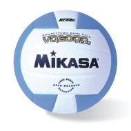 Mikasa® Competition Volleyball, Columbia Blue/White