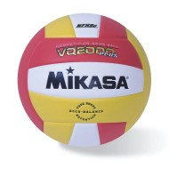 Mikasa® Competition Volleyball, Scarlet/Gold