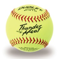 "Dudley® Collegiate Thunder Heat Fast Pitch Softball 12"" WT12Y"