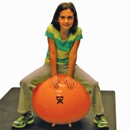 Exercise Ball with Stability Feet 22""