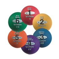 "8-1/2"" Spectrum™ 5-in-1 Playground Balls (set of 6)"