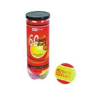 Quick Start 60 Tennis Balls (pack of 3)