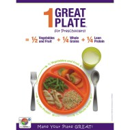 1 Great Plate™ for Preschoolers Nutrition Poster