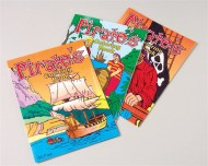 Mini Pirate Coloring Books (pack of 12)