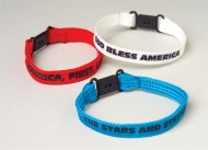 Patriotic Bands  (pack of 12)