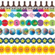 Colorful Smiles Border Trim Assortment (pack of 6)