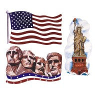 Patriotic Cutouts (pack of 24)