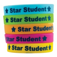 Star Student Wristbands (pack of 10)