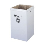 Corrugated Waste Receptacle  (pack of 12)