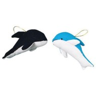 Mini Plush Dolphins (pack of 12)