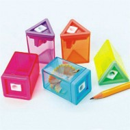 Neon Pencil Sharpeners ( of 12)