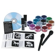 Professional Quality Glitter Tattoo Kit