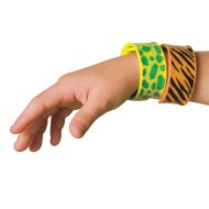 Animal Skin Slap Bracelet (pack of 12)