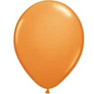 "11"" Qualatex Balloons, Std. Orange  (bag of 100)"