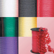 500 yard Super Curl Ribbon - Assorted  (pack of 6)