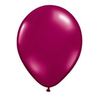 "11"" Qualatex® Jeweltone Balloons , Burgundy (bag of 100)"