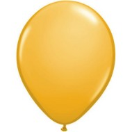 "11"" Qualatex® Balloons, Goldenrod (bag of 100)"