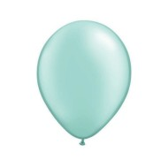 "11"" Qualatex® Pearltone Balloons , Mint Green (bag of 100)"