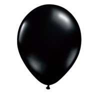 "11"" Qualatex® Jeweltone Balloons , Black (bag of 100)"