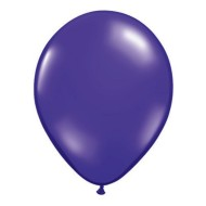 "11"" Qualatex® Balloons, Purple (pack of 100)"