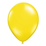 "11"" Qualatex® Jeweltone Balloons , Citrine Yellow (bag of 100)"