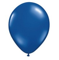 "11"" Qualatex® Jeweltone Balloons , Blue (bag of 100)"