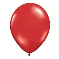 "11"" Qualatex® Jeweltone Balloons, Ruby Red (bag of 100)"
