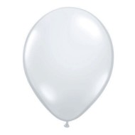 "11"" Qualatex® Jeweltone Balloons , Clear (bag of 100)"