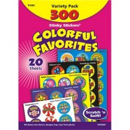 Colorful Favorites Stinky Stickers® (pack of 300)