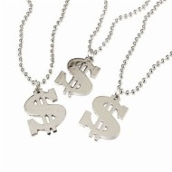 Dollar Sign Necklace (pack of 12)