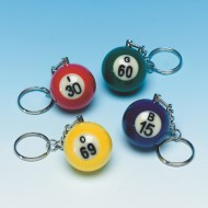 Bingo Ball Key Chain  (pack of 16)