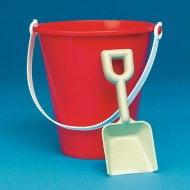 "7"" Poly Pails  (pack of 12)"