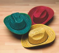 Adult Cowboy Hats  (pack of 12)