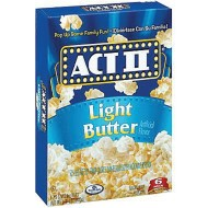 Act II Light Popcorn (pack of 36)