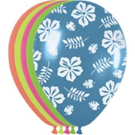Luau Latex Balloons (pack of 50)