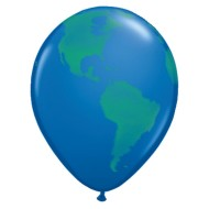 "11"" Earth Balloon Pack (pack of 50)"