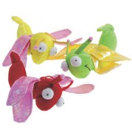 Plush Bugs with Wings (pack of 12)