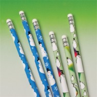 Snowman Pencil (pack of 12)