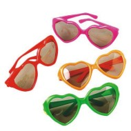 Kids Heart Sunglasses (pack of 12)