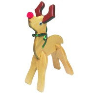 Unfinished Reindeer Wood Craft Kit, Unassembled