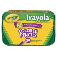 Crayola® Trayola™ Colored Pencils  (box of 54)