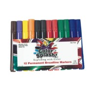 Color Splash!® Permanent Markers  (pack of 12)