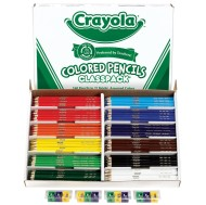 Crayola® Classpack® Colored Pencils - 12 Colors  (box of 240)
