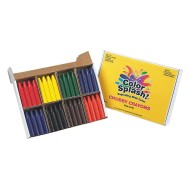 Color Splash!® Jumbo Crayons PlusPack (box of 96)