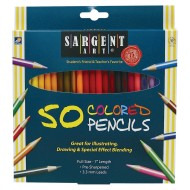 Sargent Art® Assorted Colored Pencils (box of 50)