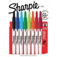 Sharpie® Retractable Color Markers  (set of 8)