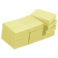 "Post-It® Notes Yellow, 1-1/2""x2""  (pack of 12)"