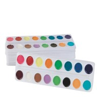 Color Splash!® Watercolor Refill Trays (pack of 12)